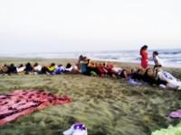 Yoga in Spiaggia Lido dei Pini